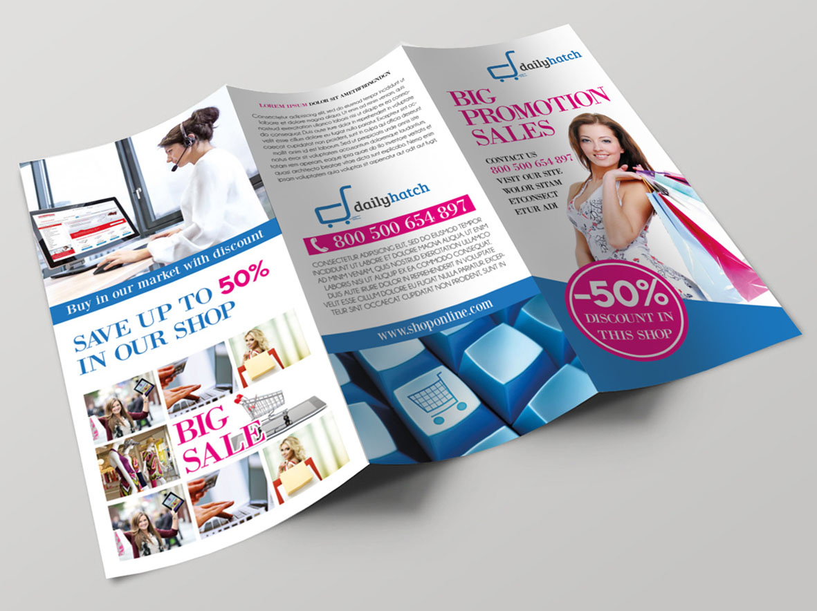 Free PSD Business Flyers Brochures Templates Free PSD - Sales brochure template