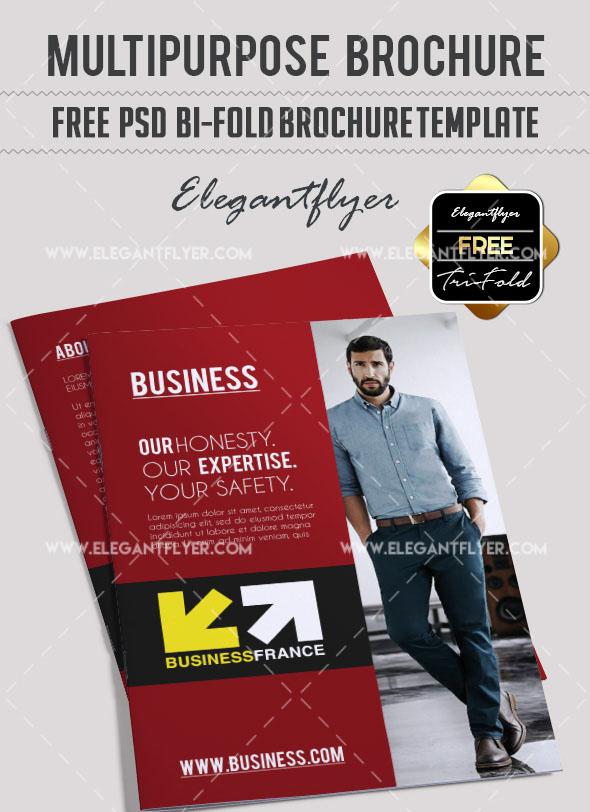 50 free premium psd business flyers brochures templates free free multipurpose brochure in psd flashek Gallery
