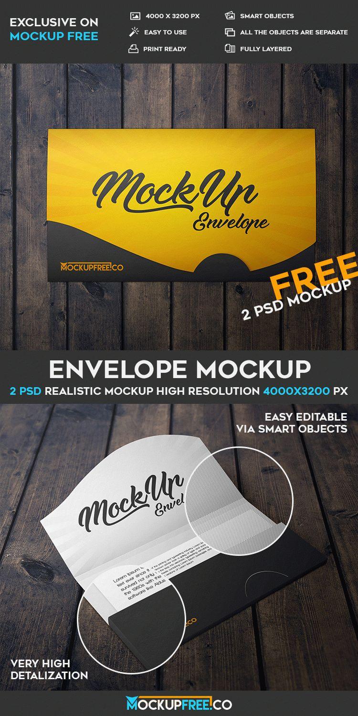 envelope 2 free psd mockups free psd templates