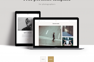 Free Portfolio PSD Template