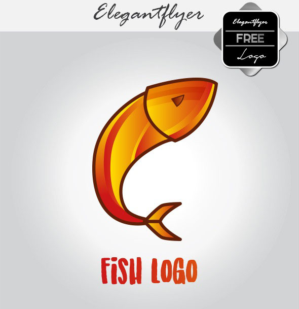 100 absolutely free psd logos templates for business for Free fishing samples 2017