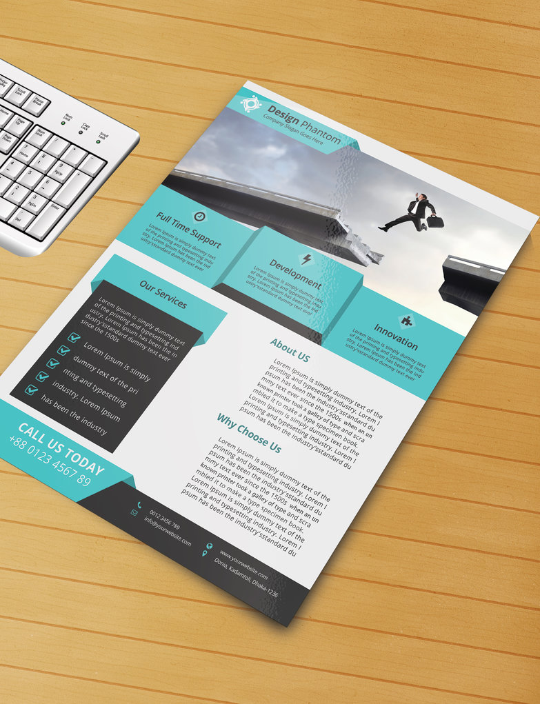 50 free premium psd business flyers brochures templates free