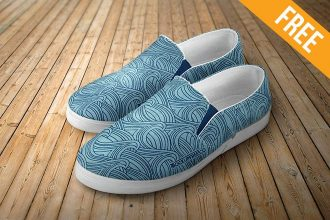 Slip-on Shoes – 2 Free PSD Mockups