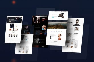 Two Theme – Freebies for Multipurpose PSD Template