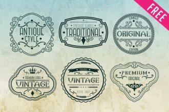 FREE Vintage Logos
