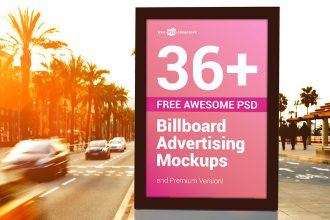 36+ Free Awesome PSD Billboard Advertising Mockups and Premium Version!