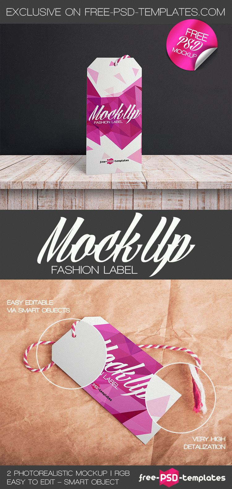 2 Free Fashion Label Mock Ups In Psd Free Psd Templates