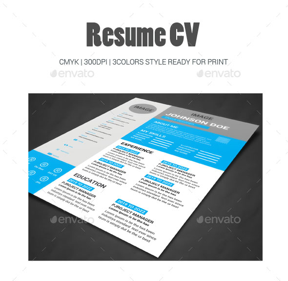 Web Developers Modern Resume