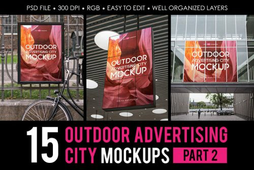 39+ Free Awesome PSD Billboard Advertising Mockups and Premium Version!