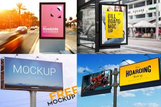 35+ Free Awesome PSD Billboard Advertising Mockups!