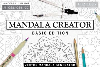 MANDALA CREATOR – FREE BASIC EDITION