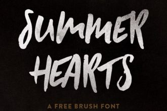 SUMMER HEARTS – FREE FONT