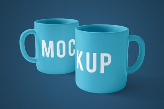 24 Free Mug Mock-up in PSD + Premium Version!