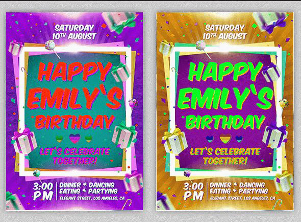 45 free birthday invite templates in psd free psd templates birthday party invitation free psd flyer template stopboris Choice Image