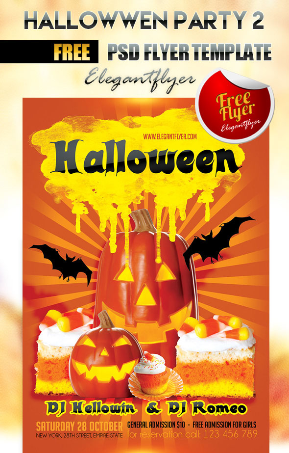 60 Premium Free Psd Halloween Flyer Templates Free Psd Templates