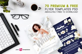 70+Premium & Free Flyer Templates PSD absolutely Free to Download!