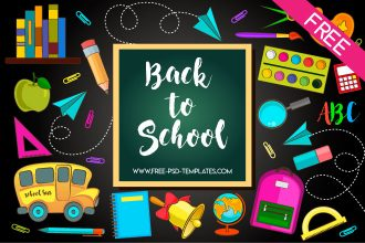 Back to School Free Vector Clipart Set