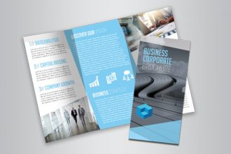Business Free Tri-Fold Brochure Template
