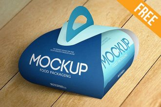 Food Packaging – 2 Free PSD Mockups
