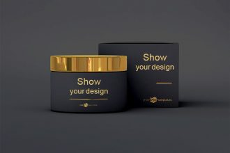 95 Only the most beautiful and professional Free PSD Product Packaging MockUPs + Premium Version!