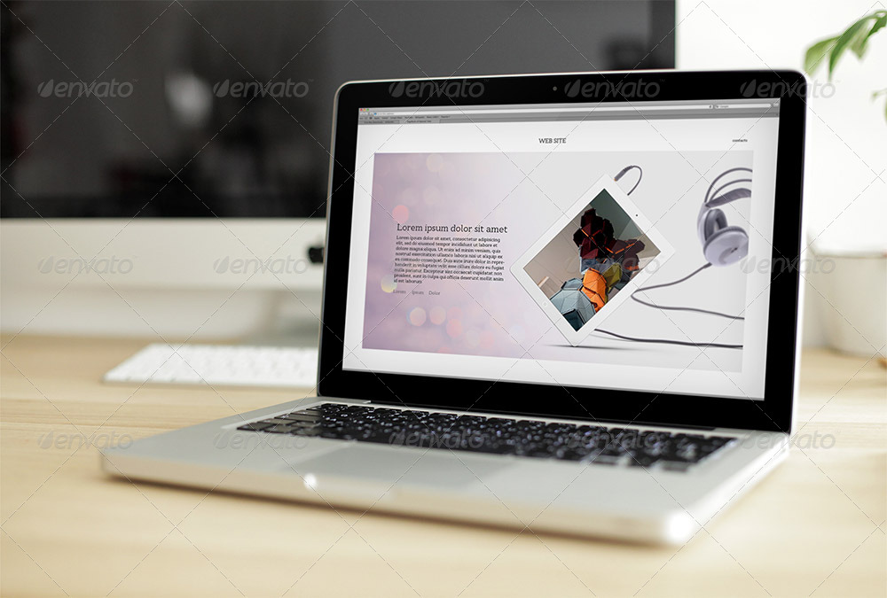 56+PSD Laptop Mockups Free for creative and professional