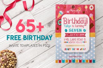 65+ FREE BIRTHDAY INVITE TEMPLATES IN PSD + Premium Invites!