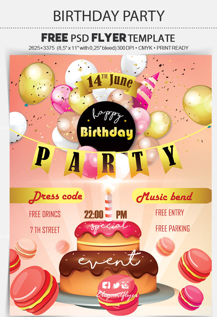 70+ FREE BIRTHDAY INVITE TEMPLATES IN PSD + Premium Invites