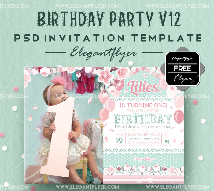 70+ FREE BIRTHDAY INVITE TEMPLATES IN PSD + Premium Invites