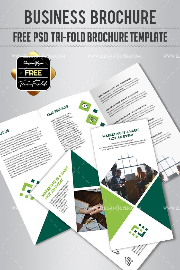 70 premium free business brochure templates psd to download business free tri fold brochure psd template cheaphphosting Choice Image