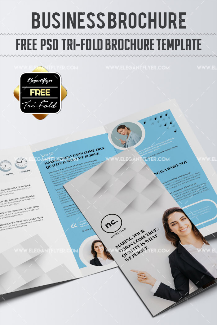 70 premium free business brochure templates psd to download business free tri fold brochure psd template wajeb Choice Image