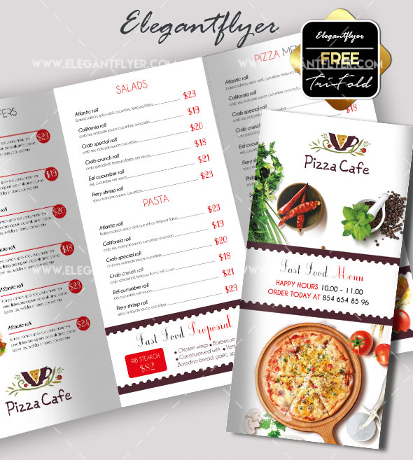 70 premium free business brochure templates psd to for Free food brochure templates