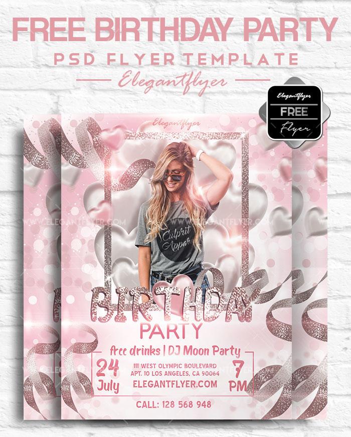 70+ FREE BIRTHDAY INVITE TEMPLATES IN PSD + Premium Invites! | Free