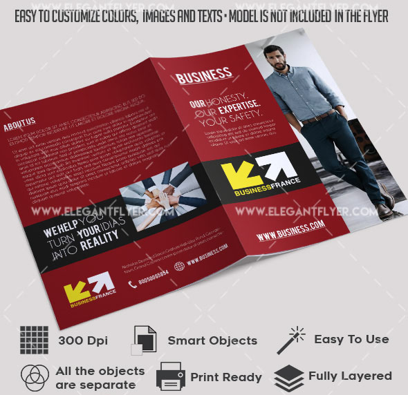 50 Free Business Brochure Templates Psd To Download Free Psd