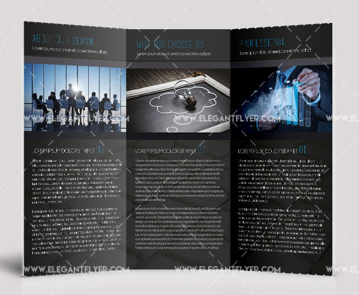 brochure template free download download
