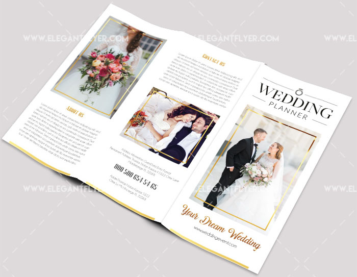 70 premium free business brochure templates psd to for Free wedding brochure templates download