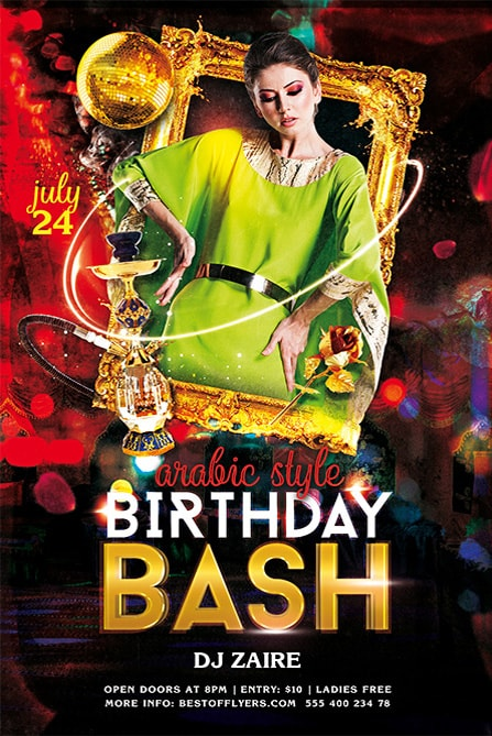 65 free birthday invite templates in psd premium invites free birthday bash psd free flyer template maxwellsz