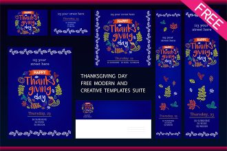 Thanksgiving Day | Free Modern and Creative Templates Suite