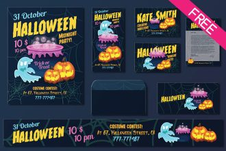 Free Halloween Templates Suite
