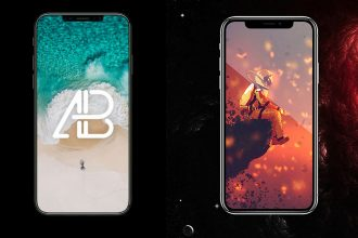 25+ Stylish iPhone X PSD Mockups Free to showcase your design!