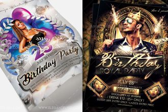 45+ Free Birthday Invite Templates in PSD!
