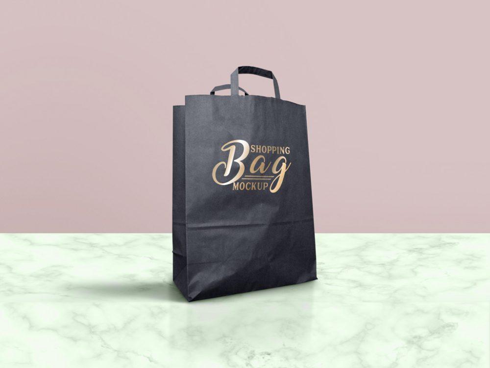 63 Premium Free Professional Shopping Bag Mockups Free Psd