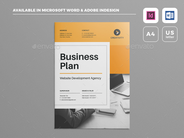 Ultimax Business Plan PowerPoint Template Graphic Design Resources - Download free business plan template