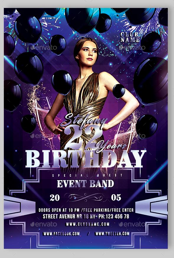 65 Free Birthday Invite Templates In Psd Premium Invites Free