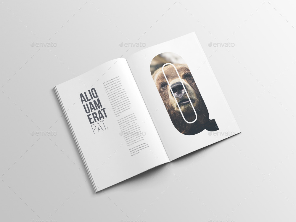 30 Free PSD Magazine/ Catalog Mockups for business and advertisement ...