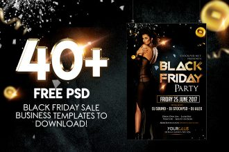 40+PREMIUM & FREE PSD BLACK FRIDAY SALES BUSINESS TEMPLATES TO DOWNLOAD!
