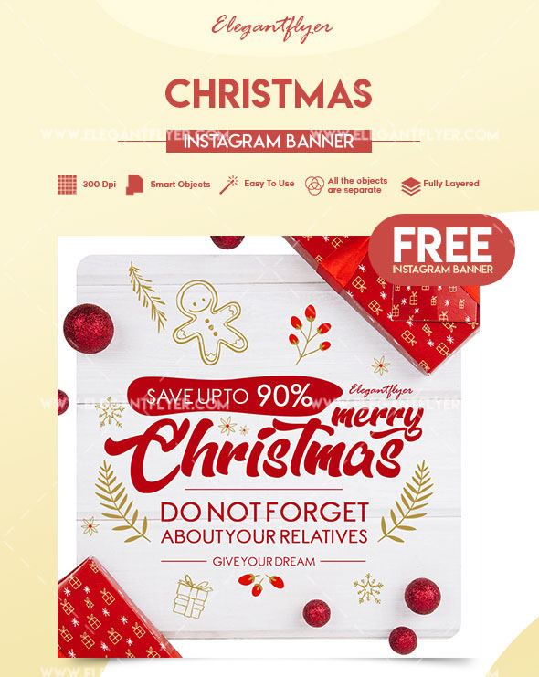 Classy Christmas Banners Church Event Banners
