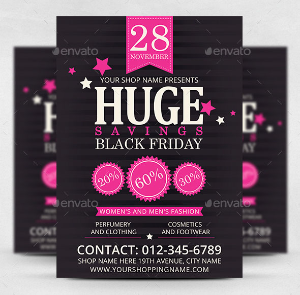 PREMIUM FREE PSD BLACK FRIDAY SALES BUSINESS TEMPLATES TO - Sales flyer template photoshop
