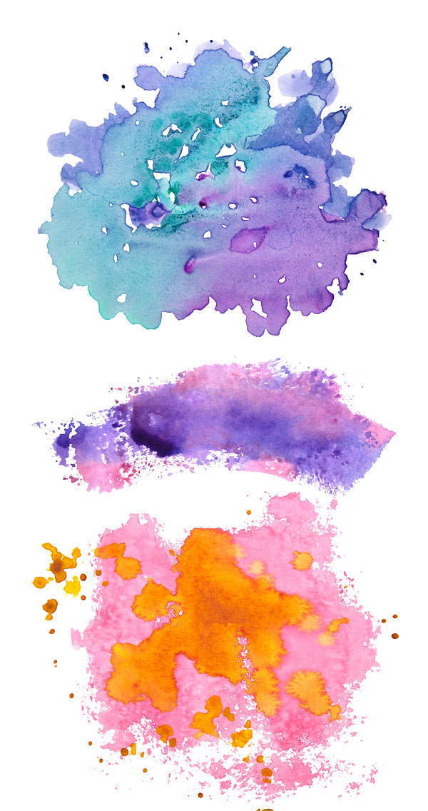 40 Free Watercolor Elements And Tools For Artistic Design