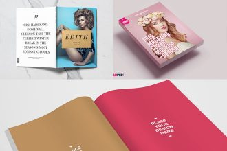 30 Free PSD Magazine/ Catalog Mockups for business and advertisement companies!
