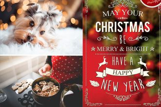 30+ Free Christmas PSD templates tools for creating the best design!